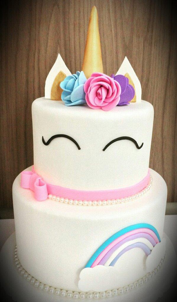 Torta Compleanno tema unicorno