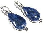 orecchini sodalite blu