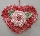 La rosa nel cuore rosso