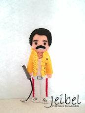 Freddie Mercury, pannolenci feltro portachiavi