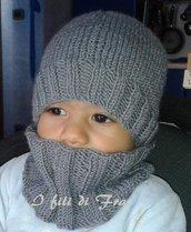 Set cappello più scaldacollo bambini