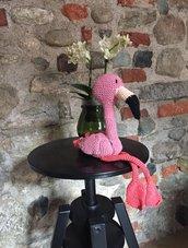 fenicottero rosa amigurumi