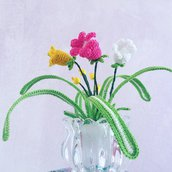 Fiori in vaso di Vetro