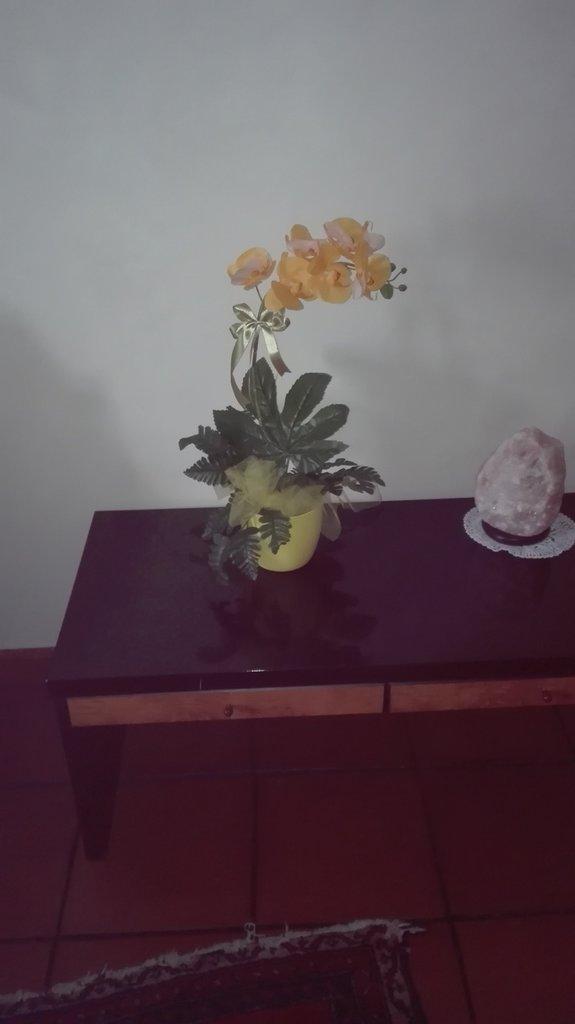 composizione orchidea artificiale