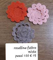 fustellati rose piccole
