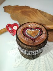 Cofanetti in legno portagioie fatti a mano