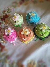 Cupcake in stile Amigurumi