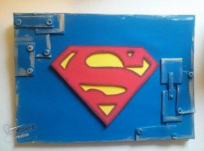 album disegno Superman