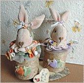 Bunny-fly conigliette porta cioccolatini