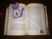 Segnalibro gattino soffice soffice
