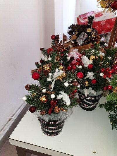 Mini alberello natalizio