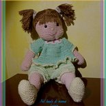 Bambola uncinetto  amigurumi Giulietta