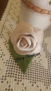 Rose velluto, segnaposto, feste, ricorrenze, floreale