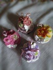 Bomboniere - Cupcakes Amigurumi