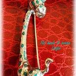 Spilla argento 800 vintage  giraffa