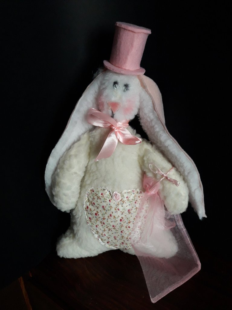Cartamodello coniglietta Blanche