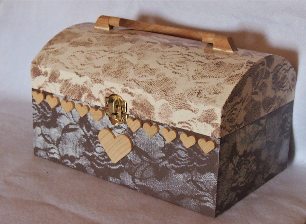 Bauletto in legno