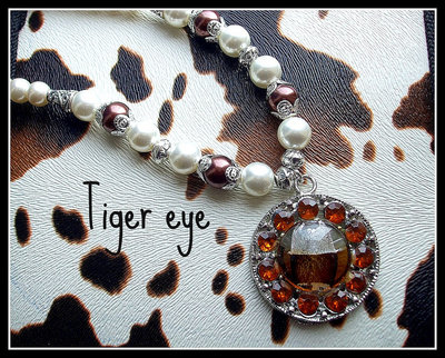 Collana ''Tiger eye''