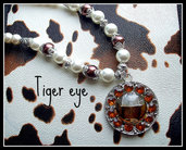 Collana ''Tiger eye''