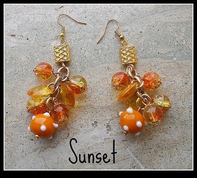 Orecchini ''Sunset''