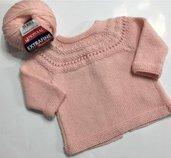 copri fasce neonata rosa