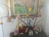 Pupazzini per pasqua o albero pasquale