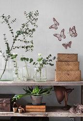 Quartetto di farfalle adesive