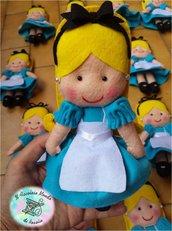 Alice nel paese delle meraviglie in pannolenci