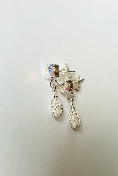 Orecchini Crystal Pavé