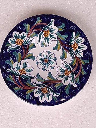 Piatto di ceramica da appendere alla parete
