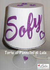 LAMPADA  da tavolo NOME PERSONALIZZABILE idea regalo originale compleanno bambino ragazza camera