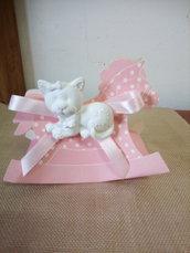 Gattino in polvere di ceramica