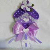 Bomboniera handmade casetta porta confetti battesimo doni e bomboniere misshobby.com