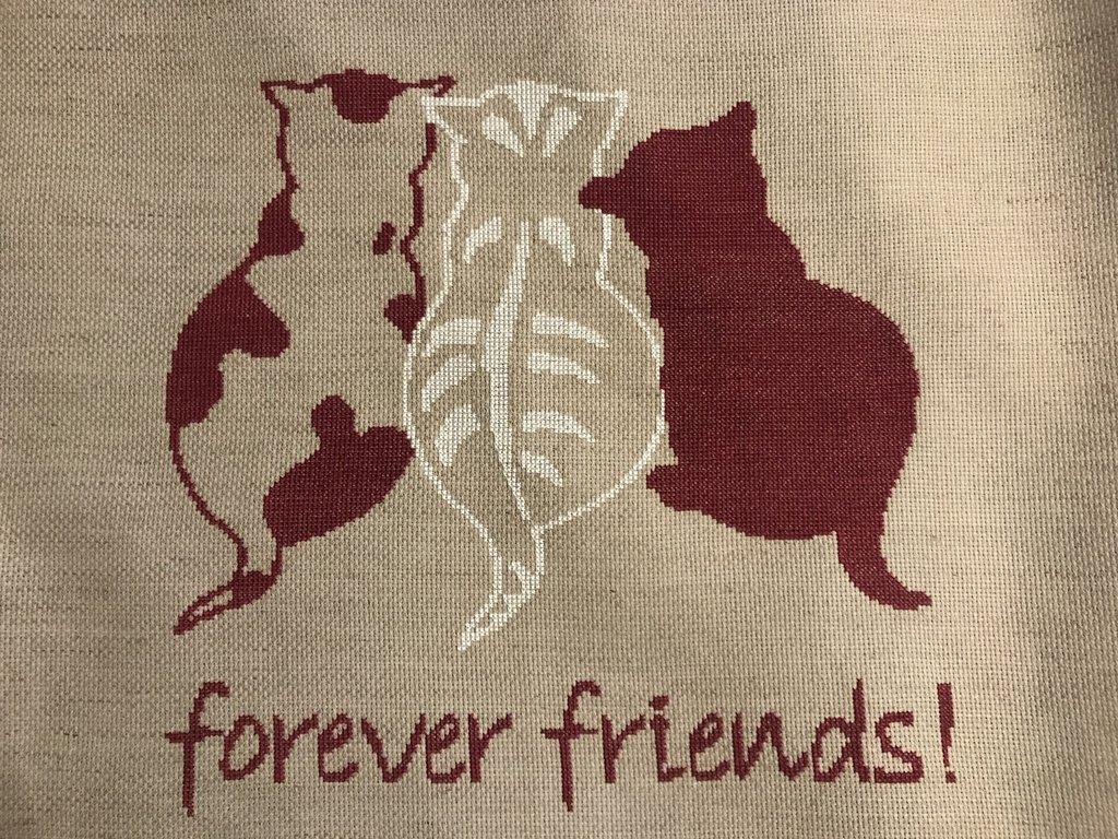 """Quadro gatti """"forever friend"""""""