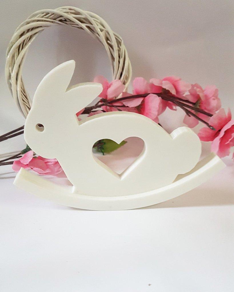 stampo tema pasqua dondolo coniglietto