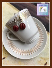 Orecchini pendenti chicchi di caffè ☕️