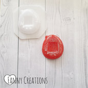 Stampo tamagotchi plastica flessibile