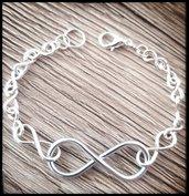 infinity wire  argento