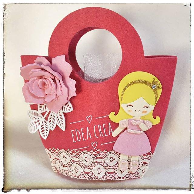 Borsetta principessa rosa