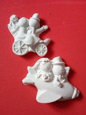 Gessetto sposi in polvere ceramica