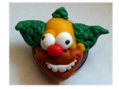 Spilla Krusty clown Simpson