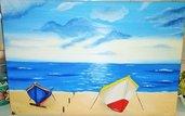 """Quadro """"Spiaggia d'estate"""""""