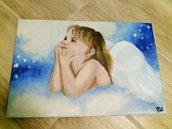 Quadro con angelo