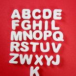 Gessetto lettera alfabeto