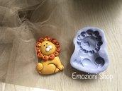 Stampo leone  in gomma siliconica atossica