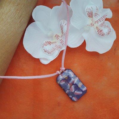 Ciondolo primaverile floreale shimmer