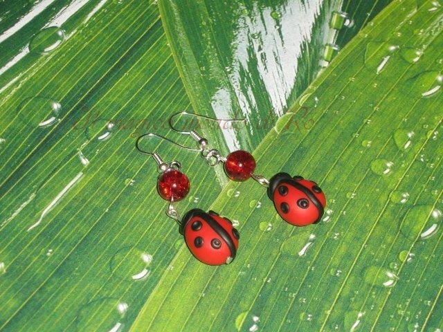 Orecchini Ladybug