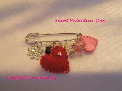 Saint Valentine's Pin