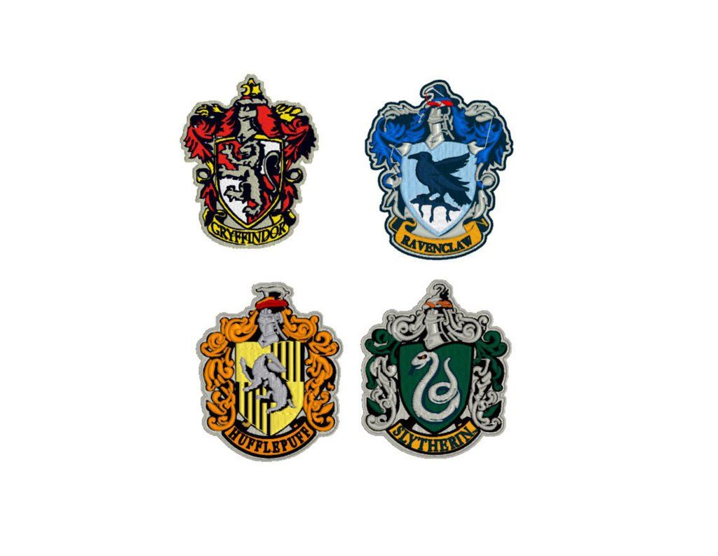 Case Hogwarts, harry potter ricamo digitale, DOWNLOAD IMMEDIATO
