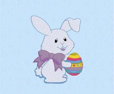 Coniglietto di Pasqua, ricamo digitale, DOWNLOAD ISTANTANEO